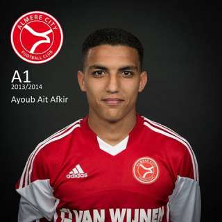 Ait Afkir scoort voor Almere City A1